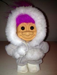 Vintage Russ Eskimo Troll Doll 1980's by WavesofDesign on Etsy, $7.99