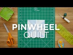 Make an Easy Pinwheel Block - Quilt Snips (Missouri Star Quilt Company…