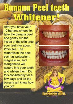 Natural teeth whitener