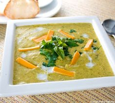 Most Loved Recipes : Cheddar Broccoli Soup recipe