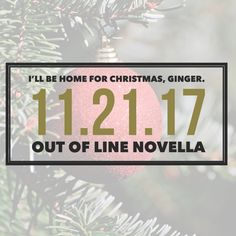 You read that right, guys!!! A new Finn and Carrie novella from Jen McLaughlin and the Out of Line world is hitting the virtual shelves TODAY, and you can read it for only 99 cents RIGHT NOW! We all know that the holidays are right around the corner, and what better way to spend it than with some of your favorite characters?  via GIPHY When we last saw Finn and Carrie in Blurred Lines, she was   #Book Review #Contemporary Romance #giveaway #new release #Series #Spicy
