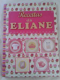 Pasta catálogo para receitas. #handmade #artesanato #receitas #pastaparareceitas #pastacatalogo #mariazinhartesanato