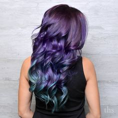 Purple+And+Teal+Hair+Color