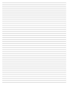 Lined Writing Paper Template Stationary Printable, Printable Lined Paper, Caligrafia Copperplate, Lined Writing Paper, Notebook Paper, Journal Paper, Stationery Paper, Note Paper, Planner Pages