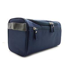 63a72e935553 Hanging Travel Toiletry Bag For Men or Women Perfect For Grooming Shaving  Dopp Kit Travel Size