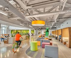 Photography by Kevin C Korczyk        Global Study Connects Employee Productivity and Well-Being to Office Design   Interface's recently released  Human Spaces report...