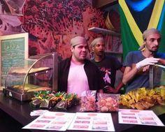 Our Team #LaRica #riodejaneiro #jamaicanfood #rio2016 by teepolion