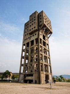 The Winding Tower of Shime Coal Mine   Anti-Zombie Fortress  favorite-places-spaces