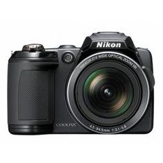 Nikon L120 14.1 Mp 21x Optik 3.0 Lcd Djital Fotoğraf Makinesi Siyah