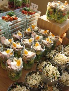 Take away salads