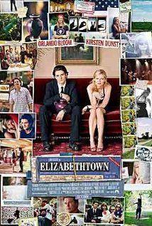 ELIZABETHTOWN:   Director: Cameron Crowe  Year: 2005  Cast: Orlando Bloom, Kirsten Dunst, Susan Sarandon, Alec Baldwin