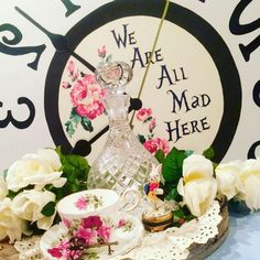 Amazing Alice in Wonderland birthday party! See more party ideas at CatchMyParty.com!