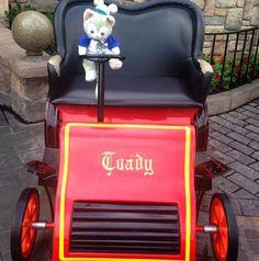 Time for a wild ride! #MrToadsWildRide #MrToad #Disneyland #Disney #DisneyParks #DiamondCelebration #Gelatoni #Duffy #ダッフィー #DuffyTheDisneyBear by duffythemerman