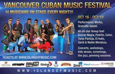 Cubasoyyo: The Vancouver Cuban Music Festival - 16-19 octubre 2014 (VIDEO PROMOCIONAL 2014)