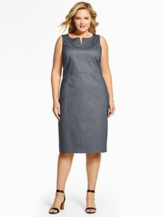 Talbots - Summer Cotton Sheath Dress | | Woman Discover your new look at Talbots. Shop our Summer Cotton Sheath Dress for stylish clothing and accessories with a modern twist at Talbots