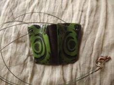 Collana con pendente realizzata in fimo.  Handmade Jewerly - DIY  Paste / argille polimeriche / sintetiche  Polymer clay
