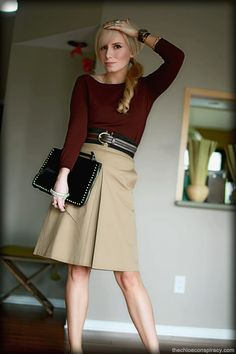 Outfit Of The Yesterday: Burgundy + Camel + Black + Mint | t h e (c h l o e) c o n s p i r a c y : fashion + life + style