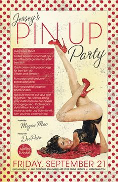 Pin Up Party Invitations Rockabilly Wedding, Rockabilly Pin Up, Lingerie Pin Up, Festa Pin Up, Pin Up Party, Pinup, Motto, Pin Up Poses, Retro Pin Up