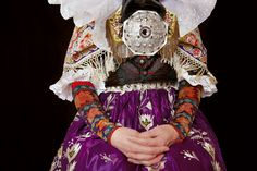Österte-Tracht Lower Saxony,Horsten Photo by Gregor Hohenberg from 'Traditional Couture' © Gestalten 2015.