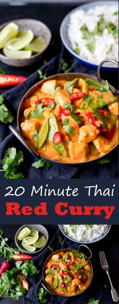 An easy and tasty meal – perfect for a quick after-work dinner.You can find Thai curry an. An easy and tasty meal – perfect for a quick after-work dinner.You can find Thai curry an. Vegetable Recipes, Vegetarian Recipes, Chicken Recipes, Cooking Recipes, Healthy Recipes, Thai Food Recipes Easy, Tasty Meals, Cooking Games, Curry Dishes