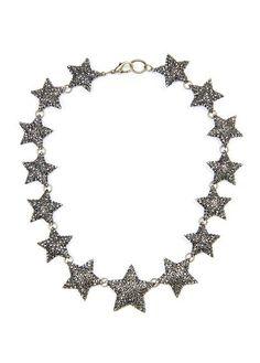 MANGO - TOUCH - Gargantilla estrellas strass
