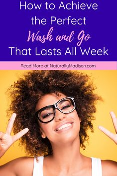 How to Achieve the Perfect Wash and Go That Lasts All Week Natural Hair Growth Tips, Natural Hair Care, Natural Hair Styles, Hair Care Recipes, Hair Care Tips, Greek Hair, Wash And Go, Curly Hair Tips, Hair Journey