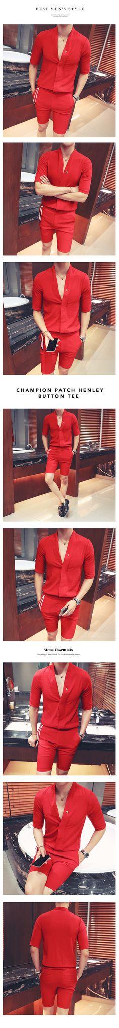 968eca51823bf Men s solid party clubwear long   Camisa Coreana Hombre