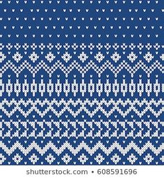 Sweater Design Seamless Knitting Pattern Textile Patterns, Knitting Patterns, Textiles, Fair Isle Knitting, Sweater Design, Le Point, Cross Stitch, Color, Illustration