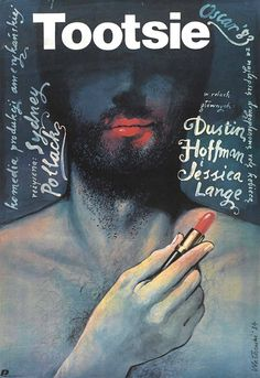 TOOTSIE Polish posters designed by Wiesław Wałkuski