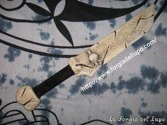 Pugnale osso #lps #larp #cosplay #grv #forgiadellupo #brenin #latex #weapon #lattice #armi #fantasy #knife #bone