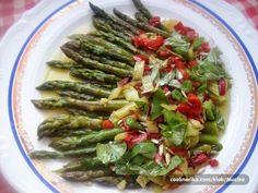 Salata od šparoga u umaku od paprike — Coolinarika