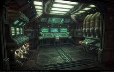 Sci-Fi Room | Displaying (18) Gallery Images For Sci Fi Room Concept Art...
