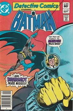 Detective Comics Vol. 46 No. 518  1982 by TheSamAntics on Etsy