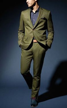 76ff87e27fbe4d 5 Things To Consider Before Going Tieless Green Suit Jacket
