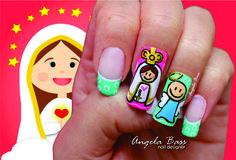 uñas Virgen caricatura Manicure, Nail Art, Makeup, Polish Nails, Nails For Wedding, Feminist Art, Nail Bar, Make Up, Nails