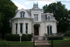 "Villa Marre in Little Rock, Arkansas   circa 1881-- TV home of ""Designing Women"""