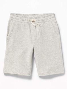 Old Navy Drawstring Jogger Shorts for Boys Fleece Shorts, Fleece Joggers, Boy Shorts, Heather Blue Color, Old Navy Fleece, Jogger Shorts, Shop Old Navy, Capsule Wardrobe, Boy Outfits