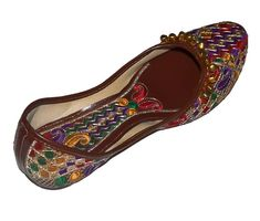118226d631f2 LEATHER US WOMEN S ROYAL SHOES NEW INDIAN RAJASTHANI PUNJABI JUTTI KHUSSA   fashion  clothing  shoes  accessories  womensshoes  sandals (ebay link)
