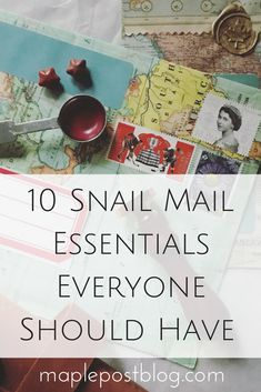 10 Snail Mail Essentials to Have in your Toolkit – Maple Post – Stationery 2020 Letters Ideas, Snail Mail Pen Pals, Snail Mail Gifts, Pen Pal Letters, Letters Mail, Fun Mail, Envelope Art, Handwritten Letters, Happy Mail