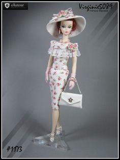 tenue outfit + accessoires pour  barbie silkstone vintage integrity toys #1173