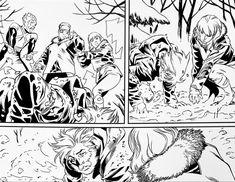 X-Men Blue. Pencils: Julian Lopez, Inks: Walden Wong Sub me at YouTube.com/WaldenWongArt . #xmen #cyclops #jeangrey #phoenix #wolverine #logan #marvel #comics #marvelcomics #mcu #marvellegends #marveluniverse #cosplay #draw #pencil #ink #inks #micron #artwork #arts #artist #artesanato #panel #fyp #sketchbook #arting #artoftheday #dccomics #imagecomics #doodle