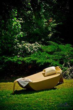 Cichy wypoczynek w ogrodzie