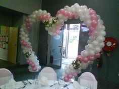 heart arch balloon
