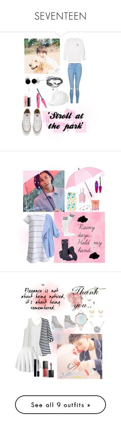 """""""SEVENTEEN"""" by lina0401 on Polyvore featuring New Look, Converse, BCBGeneration, MAC Cosmetics, Bling Jewelry, Billabong, Designers Guild, Joules, Leighton and Maybelline"""