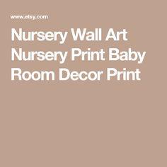 Nursery Wall Art Nursery Print Baby Room Decor Print Baby Prints, Nursery Prints, Nursery Wall Art, Calligraphy Print, Baby Room Decor, Black And White, Etsy, Black White, Nursery Decor