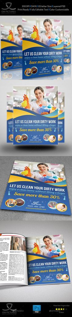 Cleaning Services Flyer Template Download: http://graphicriver.net/item/cleaning-services-flyer-template-vol2/9945591?ref=ksioks