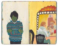 Nicholas Stevenson - sketchbook page