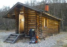 Tiny Log Cabin: Is Rustic Simplicity just for Men?