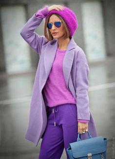 purple mix in fashion on GalantGirl.com
