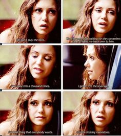 The vampire diaries Katherine is the moonstone